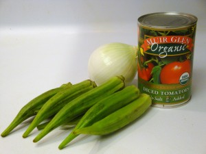 DSC04697 300x225 Stewed Okra and Tomatoes