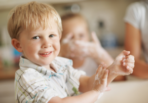 germs for children 300x209 Let Them Eat Dirt: Why Children Need Germs 